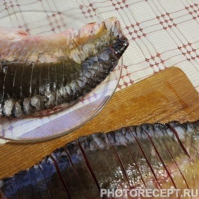Фото рецепта - Нежный карп с овощами в духовке - шаг 2