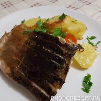 Нежный карп с овощами в духовке - рецепт с фото