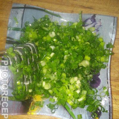 Фото рецепта - Окрошка на курином бульоне - шаг 6
