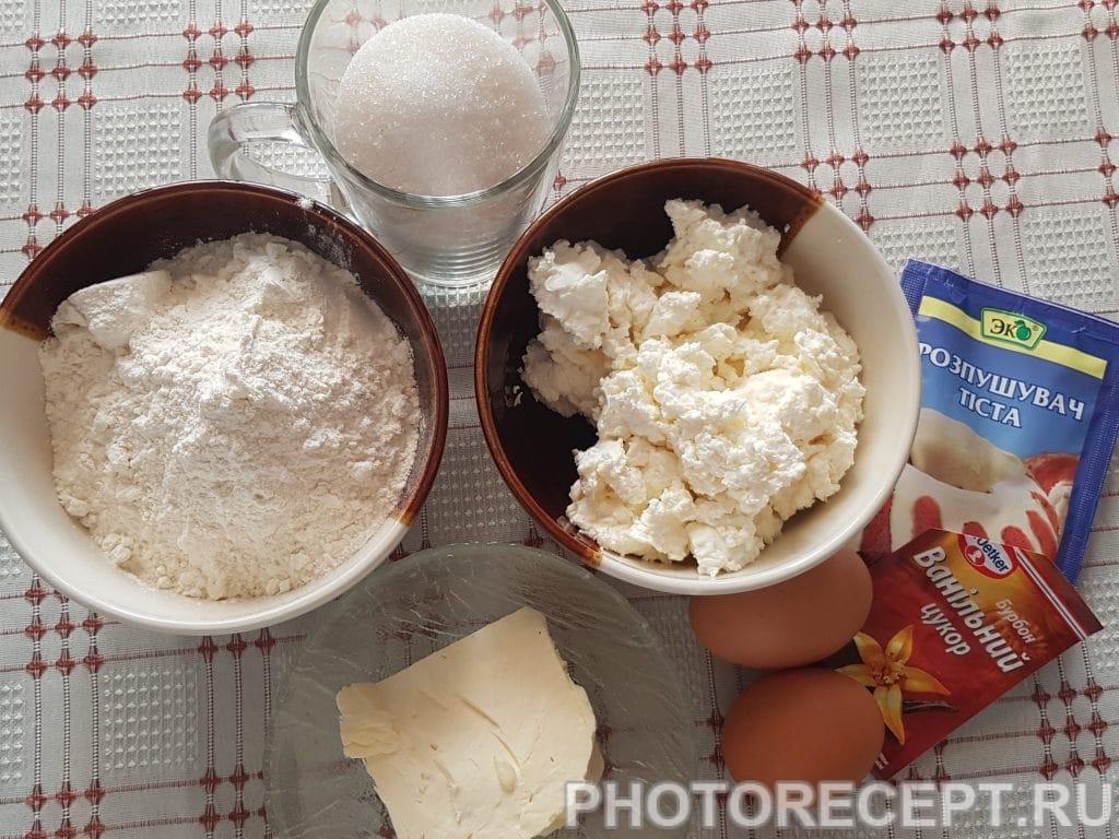 Фото рецепта - Творожные маффины - шаг 1