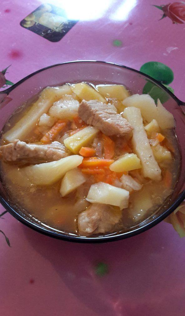Фото рецепта - Тушеная картошка - шаг 8