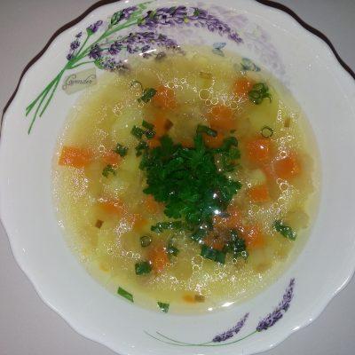 Суп с консервированным тунцом - рецепт с фото