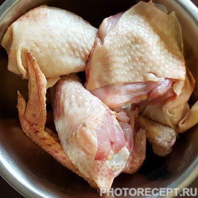Фото рецепта - Тушеная курица в мультиварке - шаг 1