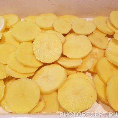 Фото рецепта - Курица с картошкой и сыром - шаг 2