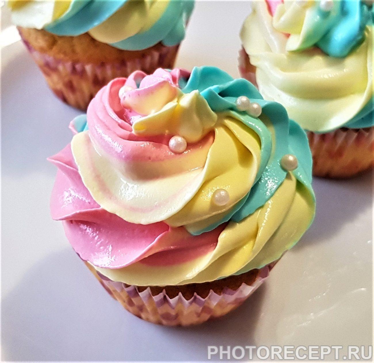 Праздничные кексы – капкейки