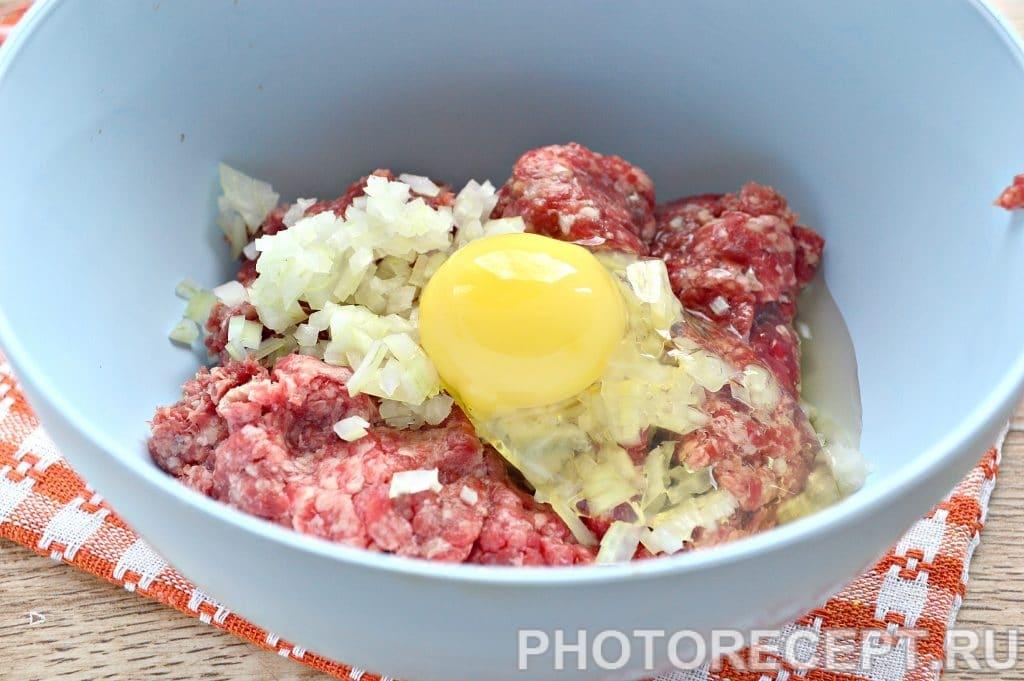 Фото рецепта - Котлеты в духовке из говядины - шаг 3