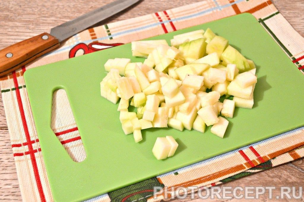Фото рецепта - Курица с картошкой и овощами - шаг 3