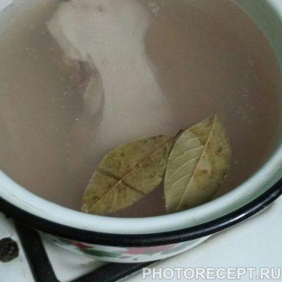 Фото рецепта - Суп с фрикадельками куриными - шаг 1