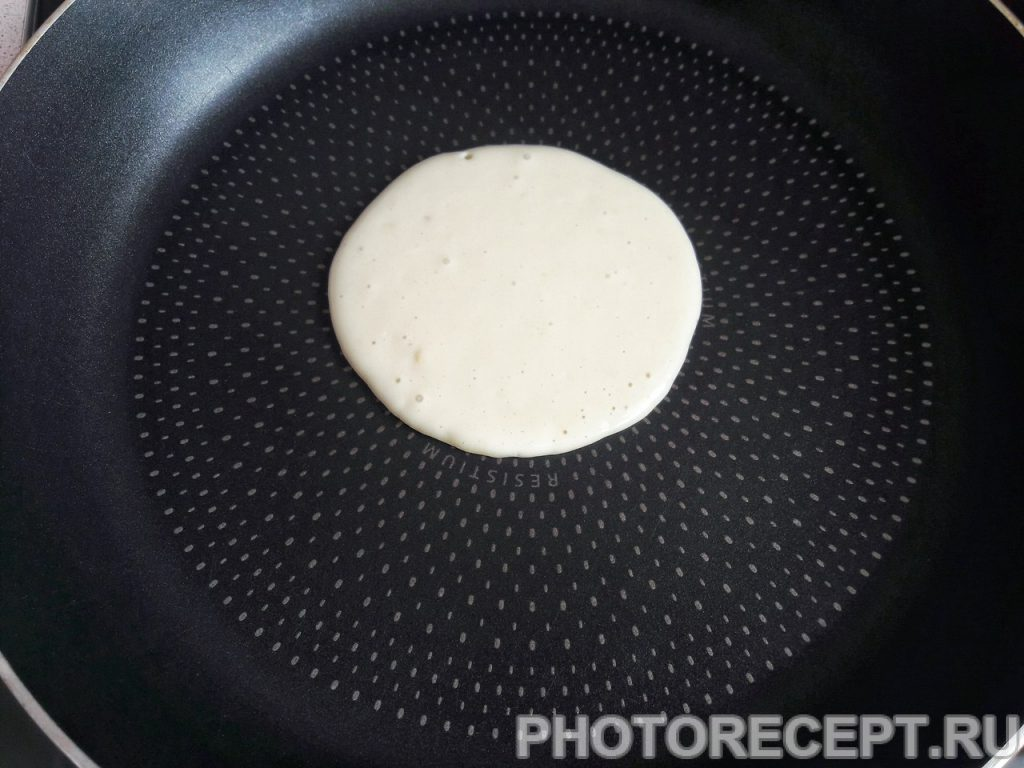 Фото рецепта - Панкейки - шаг 4