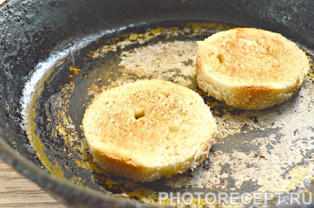 Фото рецепта - Праздничные бутерброды с копченой курицей - шаг 2