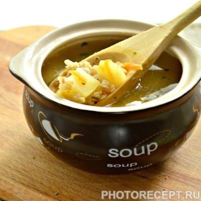 Легкий куриный суп с овсяными хлопьями - рецепт с фото