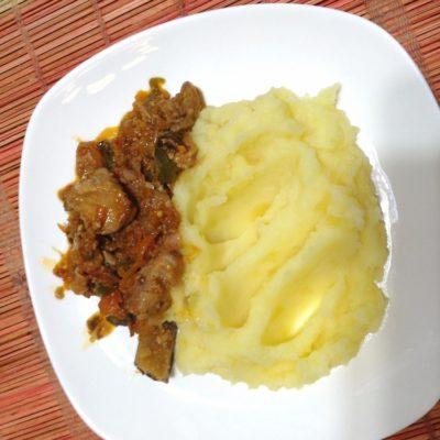 Вкусный  и простой рецепт  мяса с овощами - рецепт с фото