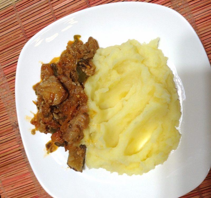 Вкусный  и простой рецепт  мяса с овощами