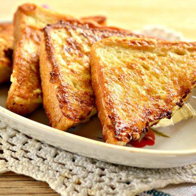 Сладкие гренки на сковороде - рецепт с фото