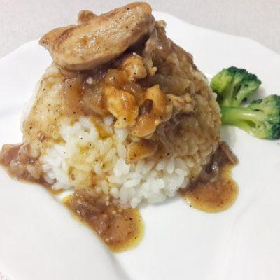 Курица с рисом - рецепт с фото