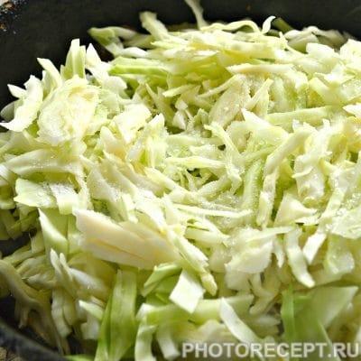 Фото рецепта - Мясной пирог с капустой - шаг 5
