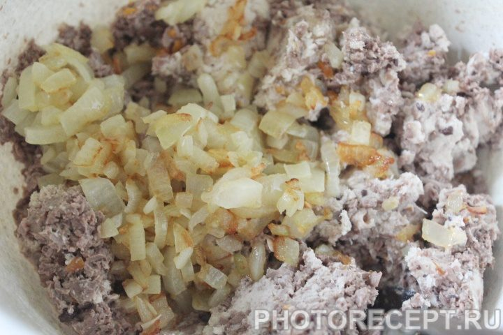 Фото рецепта - Нежный сливочный паштет с куриными сердечками - шаг 9
