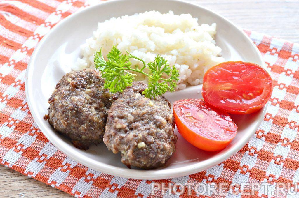 Фото рецепта - Котлеты в духовке из говядины - шаг 8