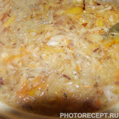 Фото рецепта - Щи из квашенной капусты со свининой - шаг 3