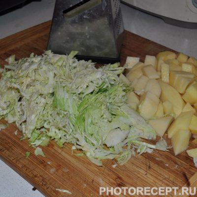 Фото рецепта - Украинский борщ в мультиварке - шаг 5