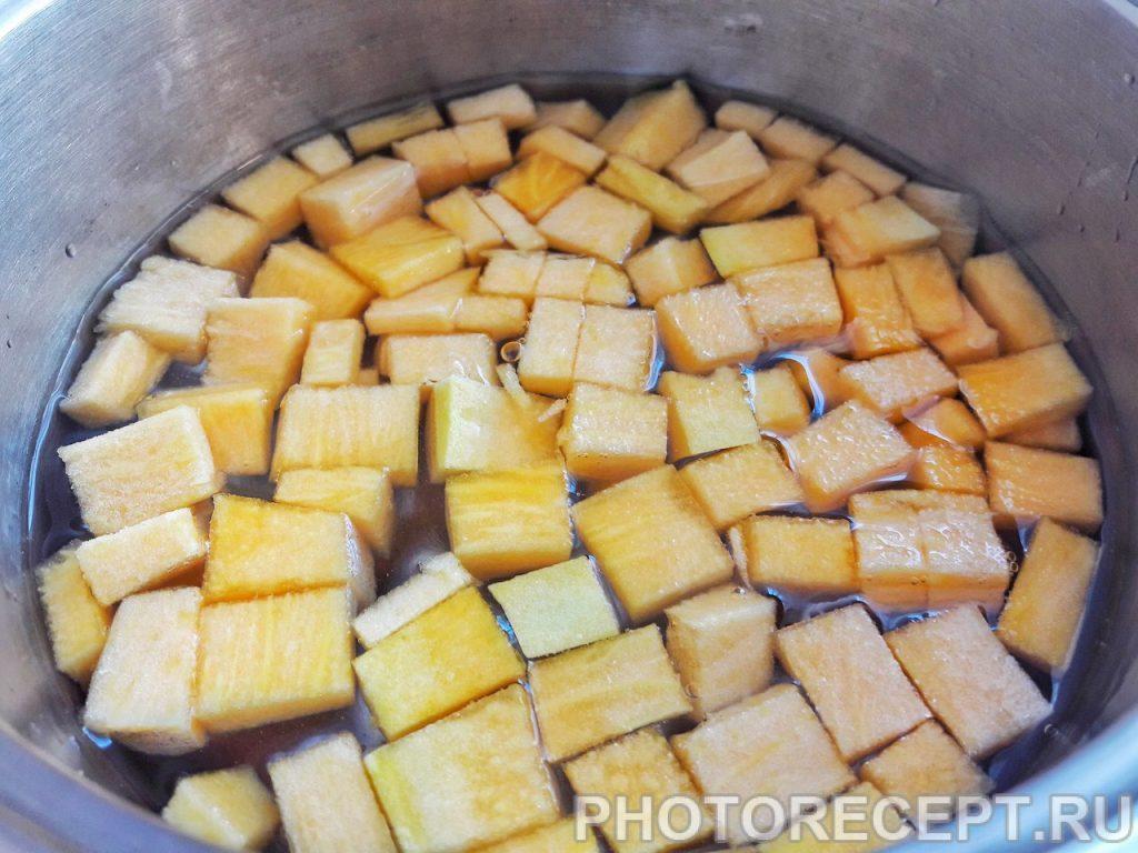 Фото рецепта - Пшеничная каша с тыквой - шаг 2