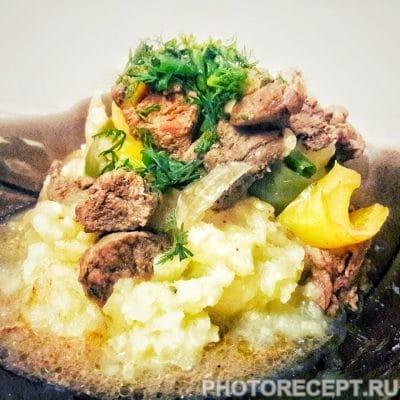 Тушеное мясо - рецепт с фото