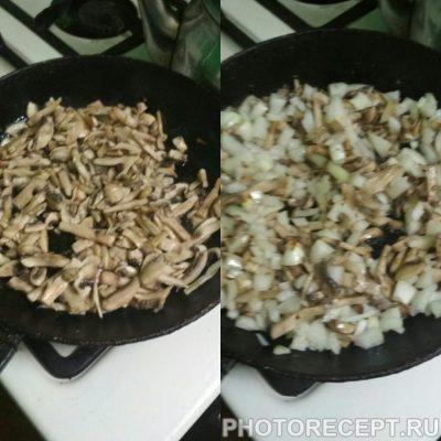 """Фото рецепта - Салат из помидоров и мяса """"Мужское наслаждение"""" - шаг 2"""