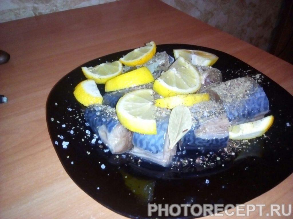Фото рецепта - Рыба с овощами, приготовленная в мультиварке - шаг 3