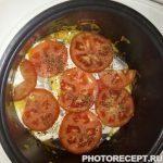 Фото рецепта - Рыба с овощами, приготовленная в мультиварке - шаг 10