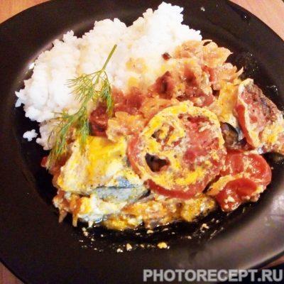 Рыба с овощами, приготовленная в мультиварке - рецепт с фото