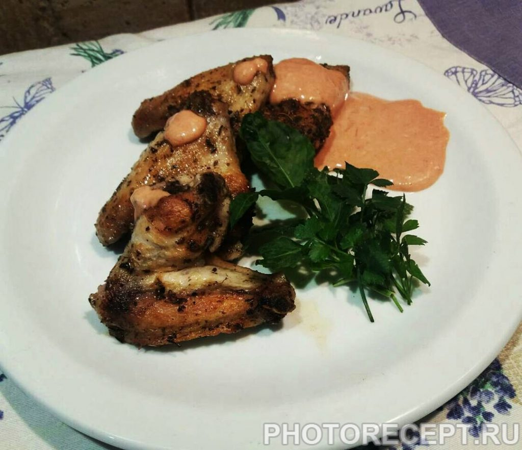 Фото рецепта - Куриные крылышки по-средиземноморски - шаг 5