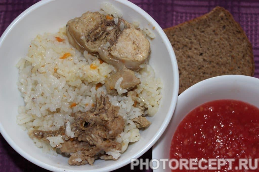 Фото рецепта - Рис с мясом кролика - шаг 4