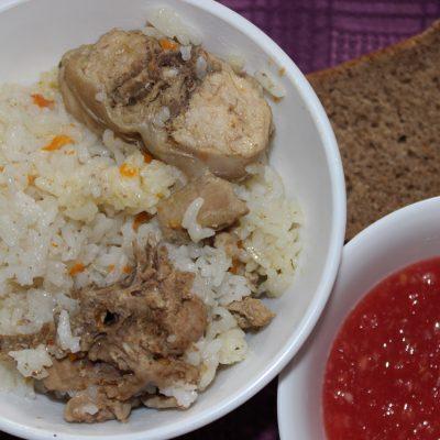Рис с мясом кролика - рецепт с фото
