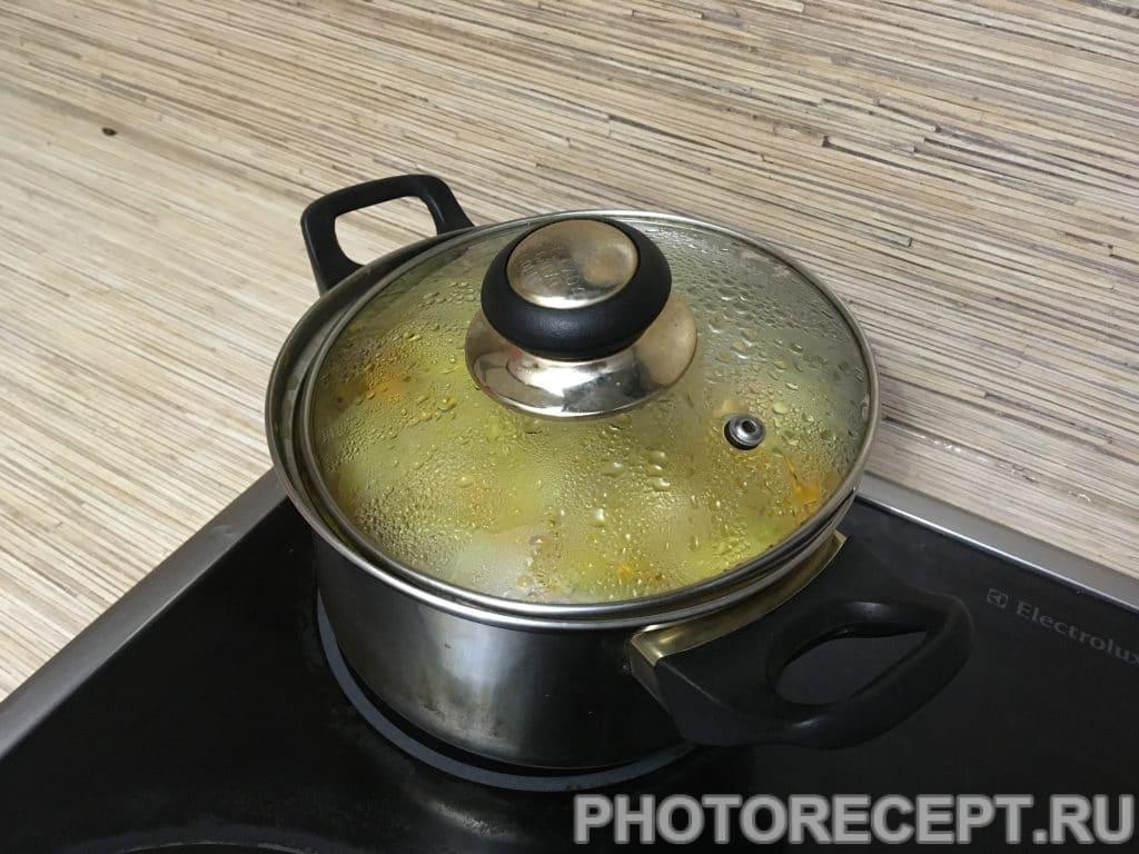 Фото рецепта - Компот из яблок и облепихи - шаг 7