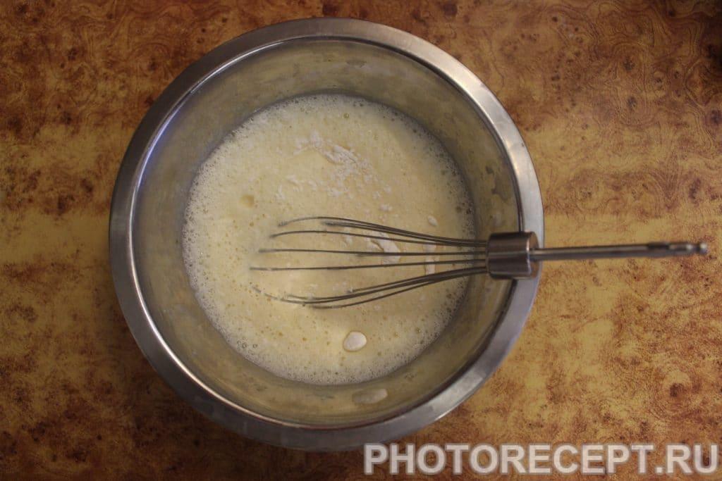 Фото рецепта - Вкуснейший диетический шоколадно-ванильный пудинг - шаг 4