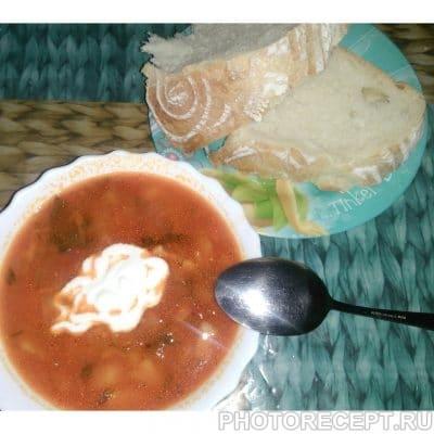 Борщ без капусты - рецепт с фото