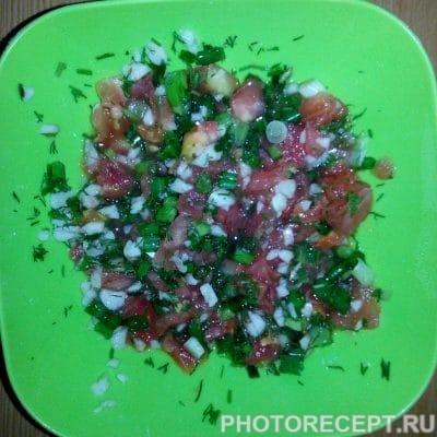 Фото рецепта - Борщ без свеклы с фасолью - шаг 6