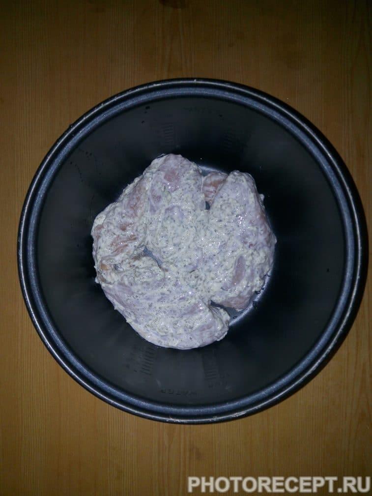 Фото рецепта - Курица в мультиварке - шаг 5