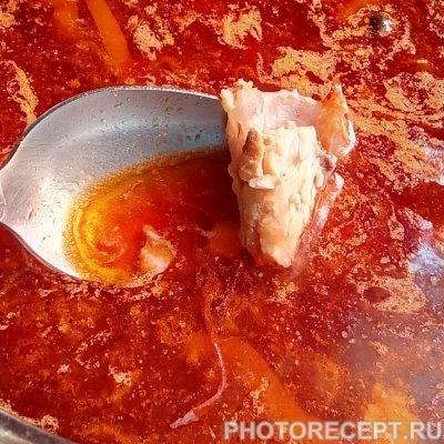 Фото рецепта - Свекольник горячий - шаг 5