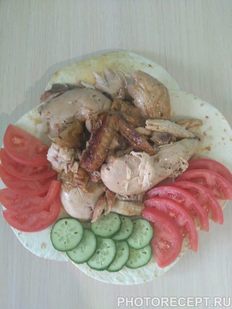 Фото рецепта - Курица, запеченная в духовке - шаг 6