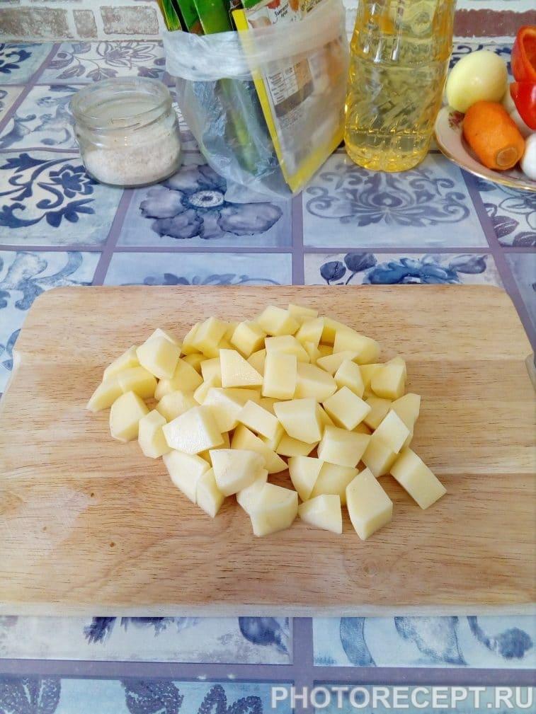 Фото рецепта - Зеленый борщ – блюдо, которое холодной осенью напоминает о теплом лете - шаг 3