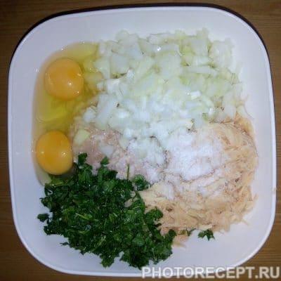 Фото рецепта - Куриные котлеты из фарша - шаг 3