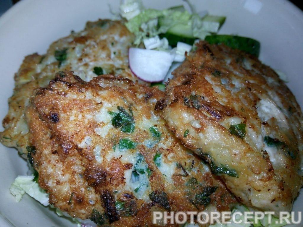 Фото рецепта - Куриные котлеты из фарша - шаг 7
