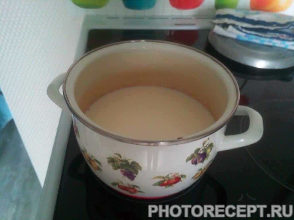 Фото рецепта - Кукурузная каша на молоке - шаг 1
