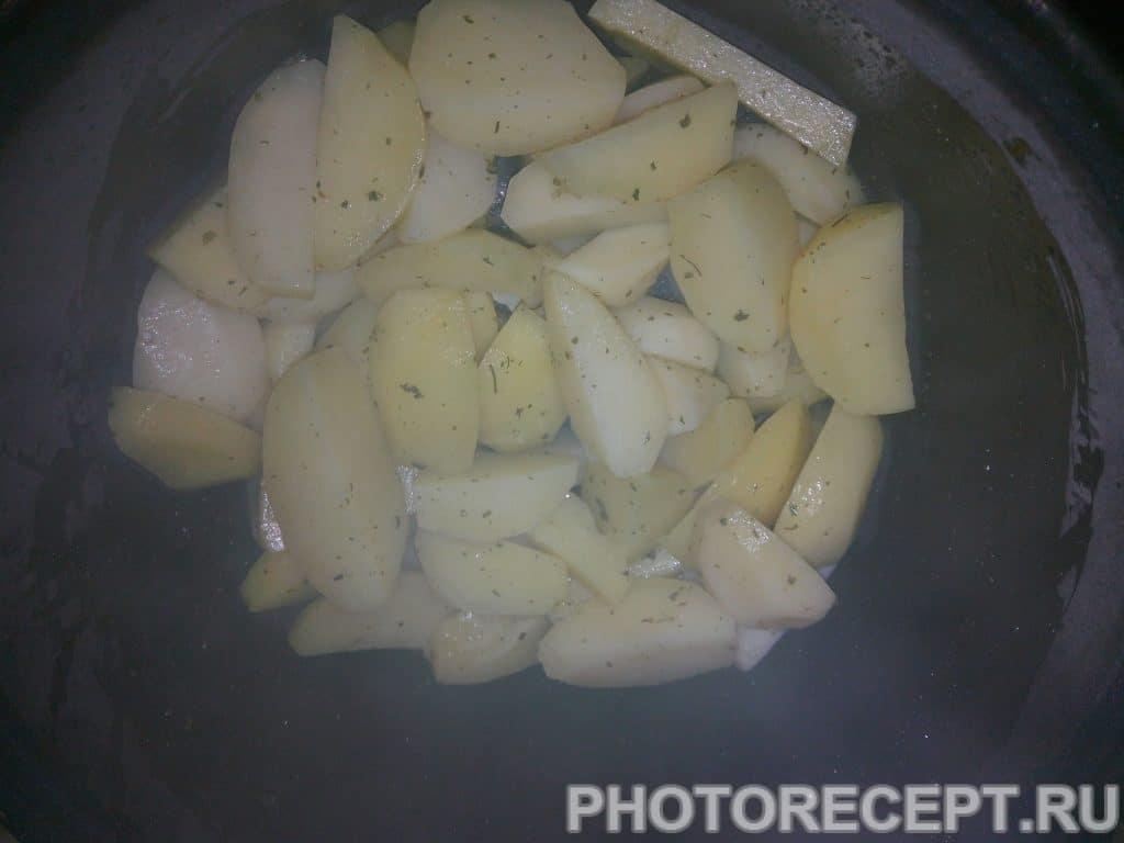 Фото рецепта - Картофель с курицей - шаг 5