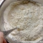Фото рецепта - Оладьи с черничным конфитюром - шаг 3