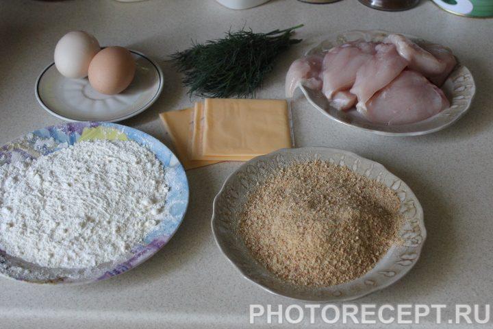 Фото рецепта - Мясные рулеты крокет с зеленью - шаг 1