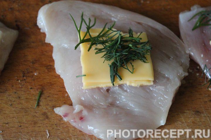 Фото рецепта - Мясные рулеты крокет с зеленью - шаг 6