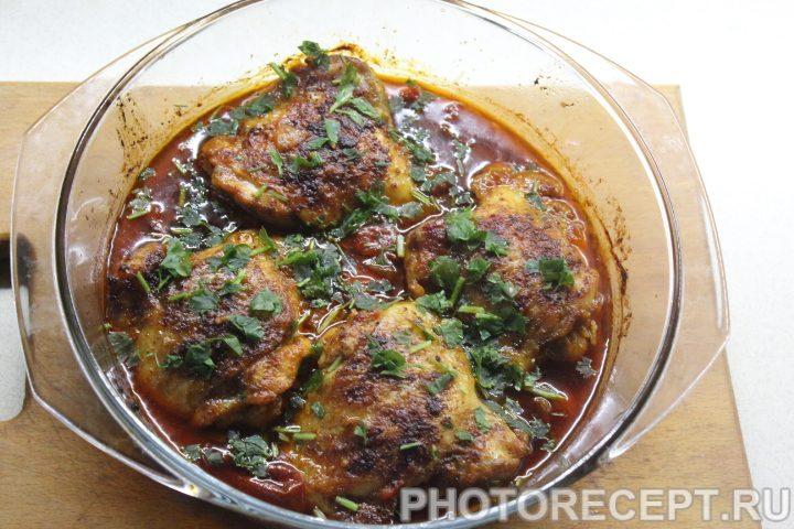 Фото рецепта - Чахохбили из курицы - шаг 14