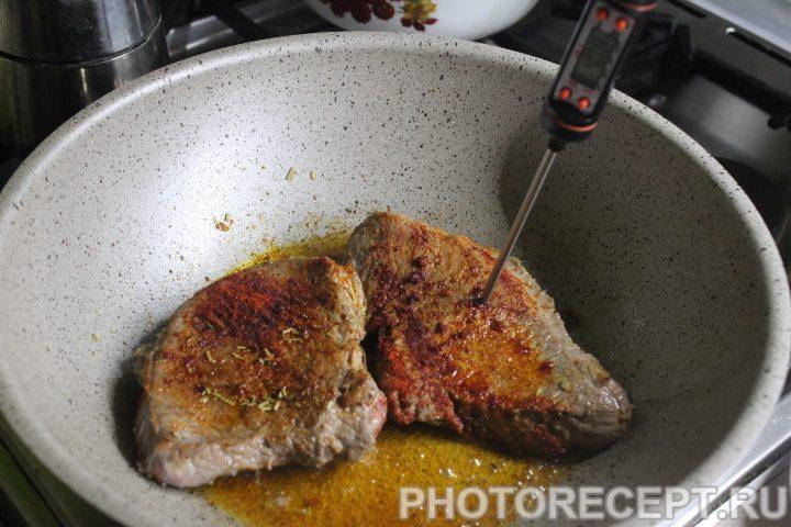 Фото рецепта - Стейк из говядины - шаг 9